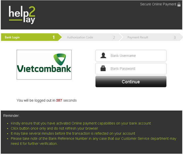 nạp tiền ibanking bet188